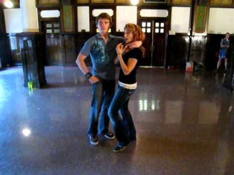 lindy hop: inappropriate dance moves - YouTube