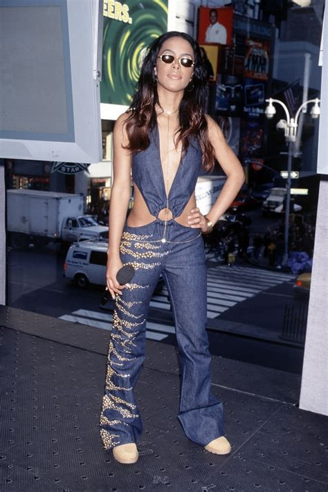20 Iconic Aaliyah Outfits
