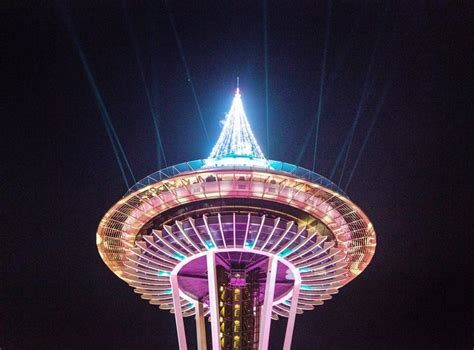 2019 begins in Seattle with fireworks and a light show