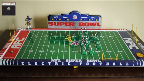 Electric Football: Super Bowl Edition - YouTube