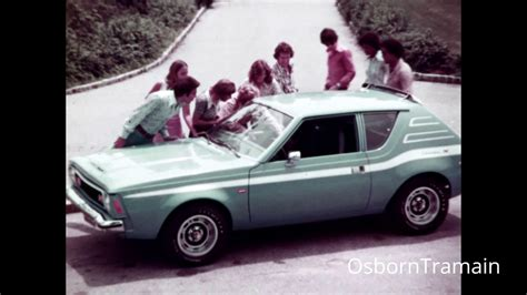 1973 AMC Gremlin Commercial - LEVI Edition - with Nancy