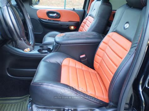 Midwest Auto Tops & Upholstery - 2002 Ford F-150 Harley