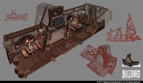 Hearthstone Animated Short: Hearth and Home Concept Art by
